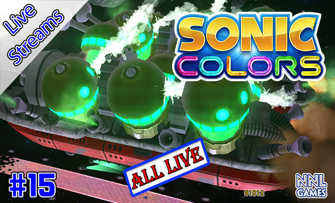 Live Streams #15: Completando Sonic Colo(u)rs (Red Star Rings e Rank S) | NNL Games