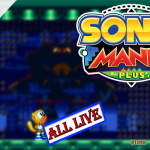 Zerando o Mania Mode com o Ray – Sonic Mania Plus | Live Streams #26