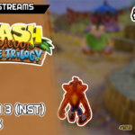 Dourando e platinando Crash 3 (NST) | Live Streams #56