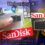 Unboxing #3: Pen Drive SanDisk Dual USB Drive 3.0 SDDD2-016G-G46