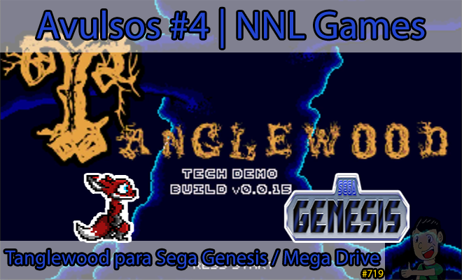 Avulsos #4: Tanglewood para Sega Genesis / Mega Drive | NNL Games
