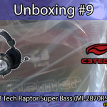Unboxing #9: Headset C3 Tech Raptor Super Bass (MI-2870RS)