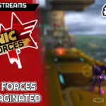 Jogando Sonic Forces Re-imaginated ao vivaço | Live Streams #40